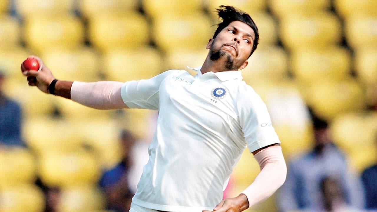 umesh yadav bowling action caught at point