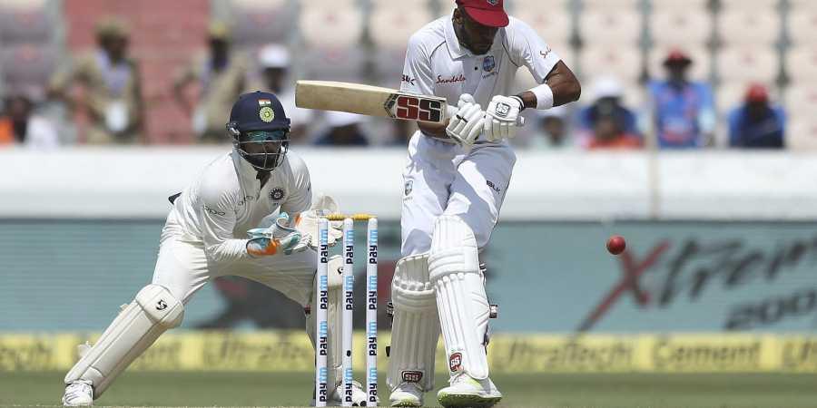 Roston Chase against India