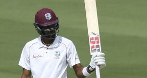 Roston Chase against India