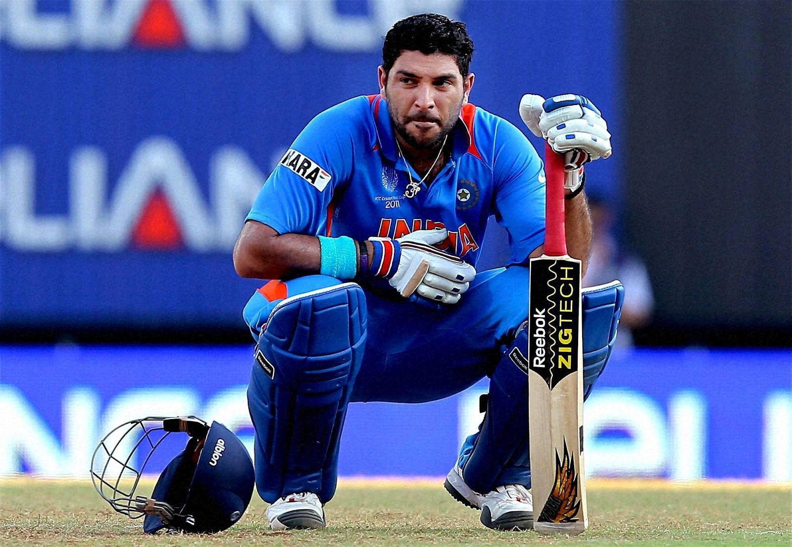 Image result for Yuvraj singh first test match photo