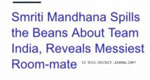 Cricket journalism
