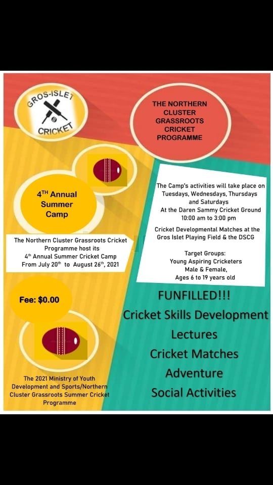 Northern Cluster Grassroots Cricket Programme